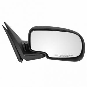 2002-2006 Chevy Avalanche Truck Manual Mirror Textured -02 03 04 05 06 Avalanche Side View Door Mirror Manual Right