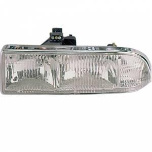 1998-2005 Blazer Front Headlight Lens Cover Assembly -Left Driver 98, 99, 00, 01, 02, 03, 04, 05 Chevy Blazer
