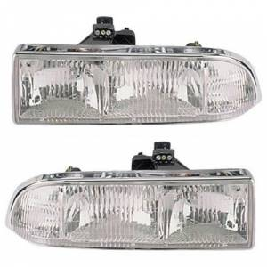 1998-2005 Chevy Blazer Headlights -Pair -DOT / SAE Approved