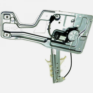 2005-2009 Equinox Window Regulator with Motor and Panel -Left Driver Front 05, 06, 07, 08, 09 Chevy Equinox