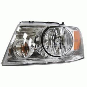 2004 2005 2006 2007 2008 Ford F150 Pickup Headlight Headlamp Chrome 04 05 06 07