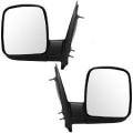 Van Savana 1996-2014 - Mirror - Side View - GMC -# - 2003-2007 Savana Van Outside Door Mirrors Manual -Driver and Passenger Set