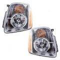 Yukon - Lights - Headlight - GMC -# - 2007-2013 Yukon Denali Headlights -Driver and Passenger Set