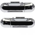 Explorer - Door Handle - Outside - Ford -# - 2002-2010 Explorer Outside Door Pull Chrome -Pair Rear