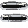 Mountaineer - Door Handle - Outside - Mercury -# - 2002-2010 Mountaineer Outside Door Pull Chrome -Driver and Passenger Set Rear
