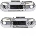 Explorer - Door Handle - Outside - Ford -# - 2002-2010 Explorer Outside Door Pull Chrome -Pair Frt
