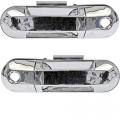 Mountaineer - Door Handle - Outside - Mercury -# - 2002-2010 Mountaineer Outside Door Pull Chrome -Pair Front Doors