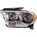 Durango - Lights - Headlight - Dodge -# - 2011 2012 2013 Durango Headlight Chrome -Left Driver