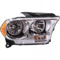 Durango - Lights - Headlight - Dodge -# - 2011 2012 2013 Durango Headlight Chrome -Right Passenger