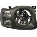 Xterra - Lights - Headlight - Nissan -# - 2002 2003 2004 Xterra XE Headlight Dark Gray -Right Passenger