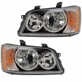 Highlander - Lights - Headlight - Toyota -Replacement - 2001 2002 2003 Highlander Headlight Units -Driver and Passenger Set
