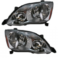 Avalon - Lights - Headlight - Toyota -Replacement - 2005 2006 2007 Avalon Headlights -Driver and Passenger