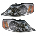 Avalon - Lights - Headlight - Toyota -Replacement - 2000-2004 Avalon Front Headlights -Driver and Passenger Set