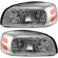 Montana SV6 - Lights - Headlight - Pontiac -# - 2005-2009 Montana SV6 Headlights -Driver and Passenger Set