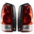 Montana SV6 - Lights - Tail Light - Pontiac -# - 2005-2009 Montana SV6 Rear Tail Lights Brake Lamps -Driver and Passenger Set