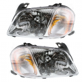 Tribute - Lights - Headlight - Mazda -# - 2001-2004 Tribute Front Headlight Lens Cover Assemblies -Driver and Passenger Set