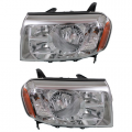Pilot - Lights - Headlight - Honda -# - 2009 2010 2011 Pilot Front Headlight Lens Cover Assemblies -Driver and Passenger Set