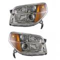 Pilot - Lights - Headlight - Honda -# - 2006 2007 2008 Pilot Front Headlight Lens Cover Assemblies -Driver and Passenger Set