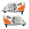 Pilot - Lights - Headlight - Honda -# - 2003 2004 2005 Pilot Front Headlight Lens Cover Assemblies -Driver and Passenger Set