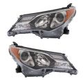 RAV4 - Lights - Headlight - Toyota -Replacement - 2013 2014 2015 Rav4 Headlights -Driver and Passenger Set