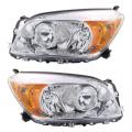 RAV4 - Lights - Headlight - Toyota -Replacement - 2006 2007 2008 Rav4 Headlight Chrome -Pair