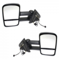 Mirror - Extendable Towing OE Style - 2007* (new body style) - 2018 Silverado - Chevy -# - 2014*-2018 Silverado Extending Tow Style Mirrors Power Heat -Driver and Passenger Set