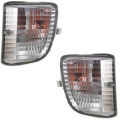 RAV4 - Lights - Turn Signal / Park Light - Toyota -Replacement - 2001 2002 2003 Rav4 without Fog Lights Park Signal Lights -Driver and Passenger Set