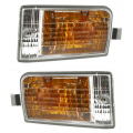 RAV4 - Lights - Turn Signal / Park Light - Toyota -Replacement - 2001 2002 2003 Rav4 Signal Lights W/ Fog Lamps -Driver and Passenger Set