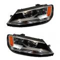 Jetta - Lights - Headlight - VW -# - 2011-2016 Jetta Sedan Headlamps -Driver and Passenger Set