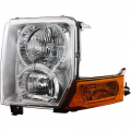 Commander - Lights - Headlight - Jeep -# - 2006-2010 Jeep Commander Front Headlight Lens Cover Assembly -Left Driver