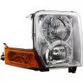 Commander - Lights - Headlight - Jeep -# - 2006-2010 Jeep Commander Front Headlight Lens Cover Assembly -Right Passenger