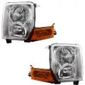 Commander - Lights - Headlight - Jeep -# - 2006-2010 Jeep Commander Front Headlight Lens Cover Assemblies -Driver and Passenger Set