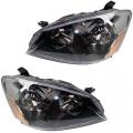 Altima - Lights - Headlight - Nissan -# - 2005-2006 Altima Halogen Headlight -Driver and Passenger Set