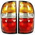Tacoma - Lights - Tail Light - Toyota -Replacement - 2001-2004 Tacoma Brake Light Tail Lamps -Driver and Passenger Set