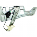 05, 06, 07, 08, 09 Chevy Equinox Left Driver Front Window Regulator with Motor and Panel